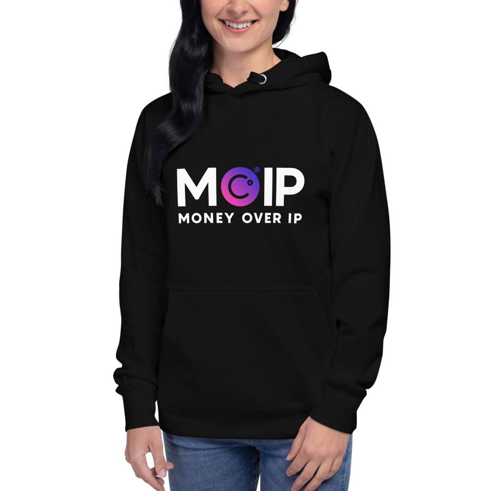 Image of MOIP Unisex Black Hoodie