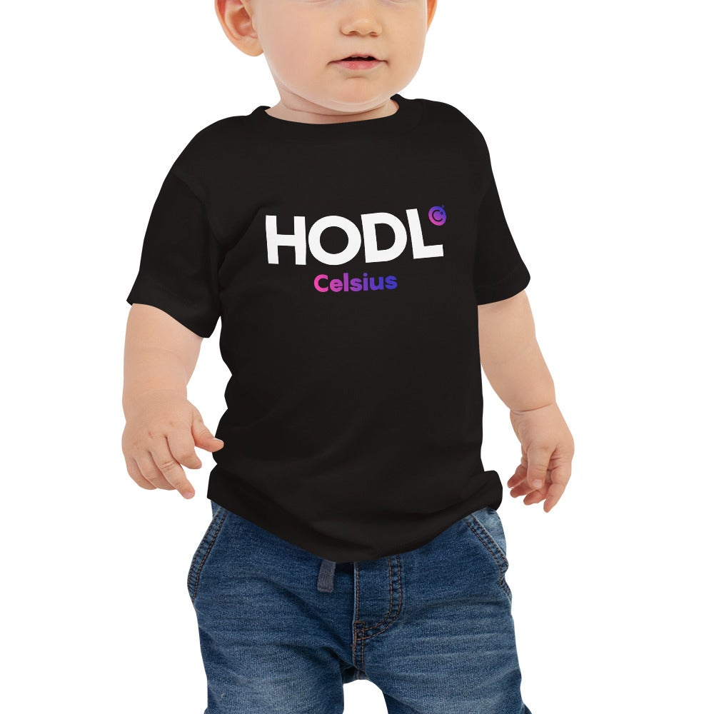 Image of HODL Black Baby T-Shirt