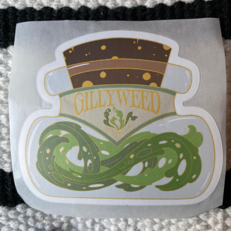 Jar of GilliWeed Sticker