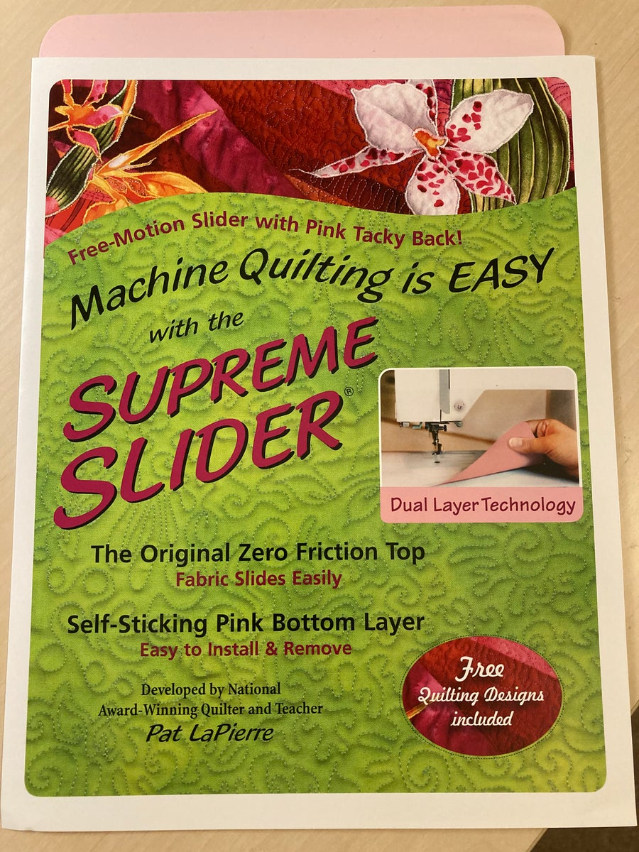 """Image of Supreme Slider mat, 11.5"""" x 8"""" for free motion sewing"""