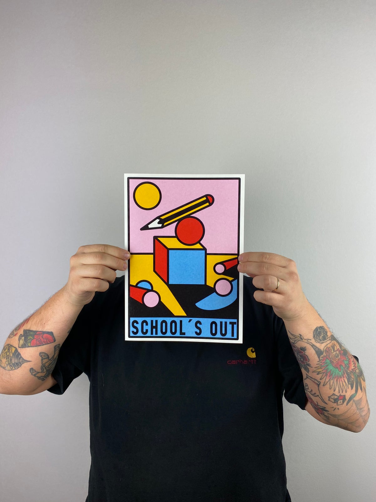 Image of SCHOOL'S OUT - SINGLE PRINT