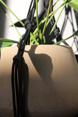 Image of Paracord Hanging planter