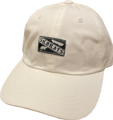 Image of SK8RATS Rat Patch Hat (White)