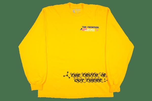 Image of Alien Element Long Sleeve T-Shirt Gold