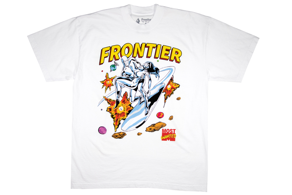 Image of Silver Surfer T-Shirt White