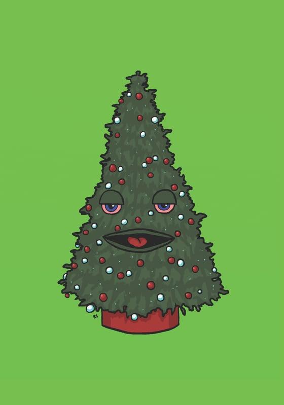 Image of Hippie Tree Xmas Cards - SE / NL Turnip