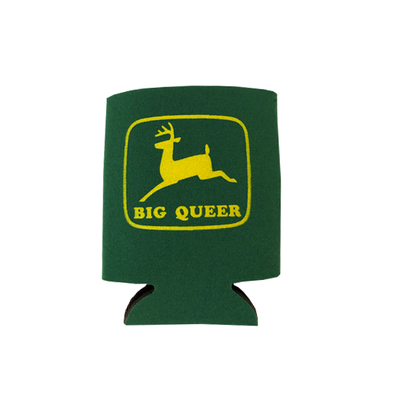 Image of Big Queer Koozie Can Cooler