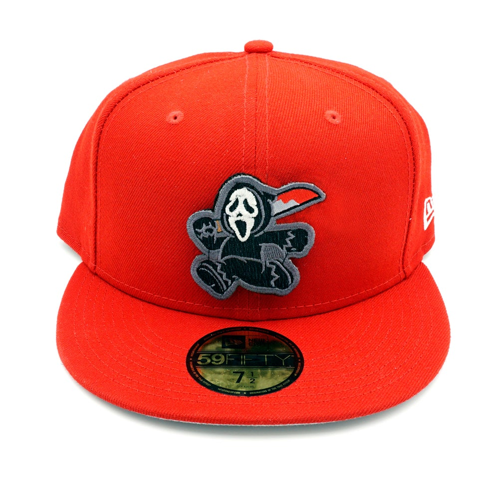 Ghostface Custom 59FIFTY Red
