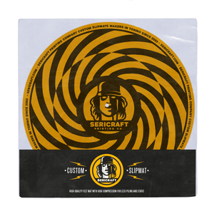 Image of SERICRAFT SLIPMAT - YELLOW
