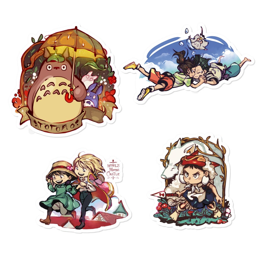 Image of ✧ Ghibli Stickers ✧