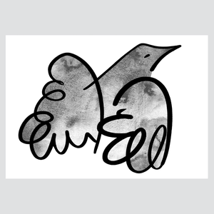 L'oiseau plume