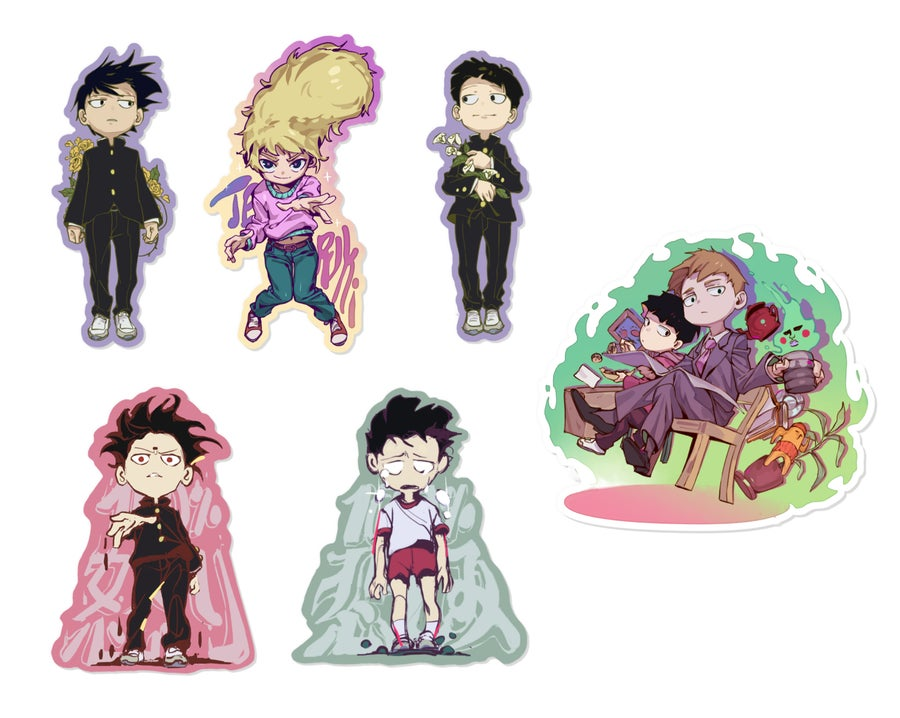 Image of ✧ MP100 Holographic STICKERS ✧