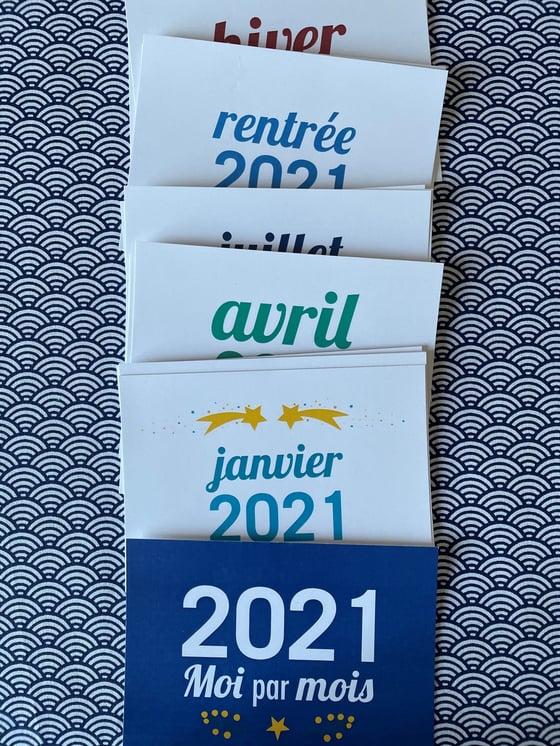 Image of Calendrier Annuel Moi par mois - 2021