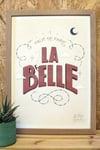 """""""La Belle"""" par La Main Gauche X Urban Art Paris"""