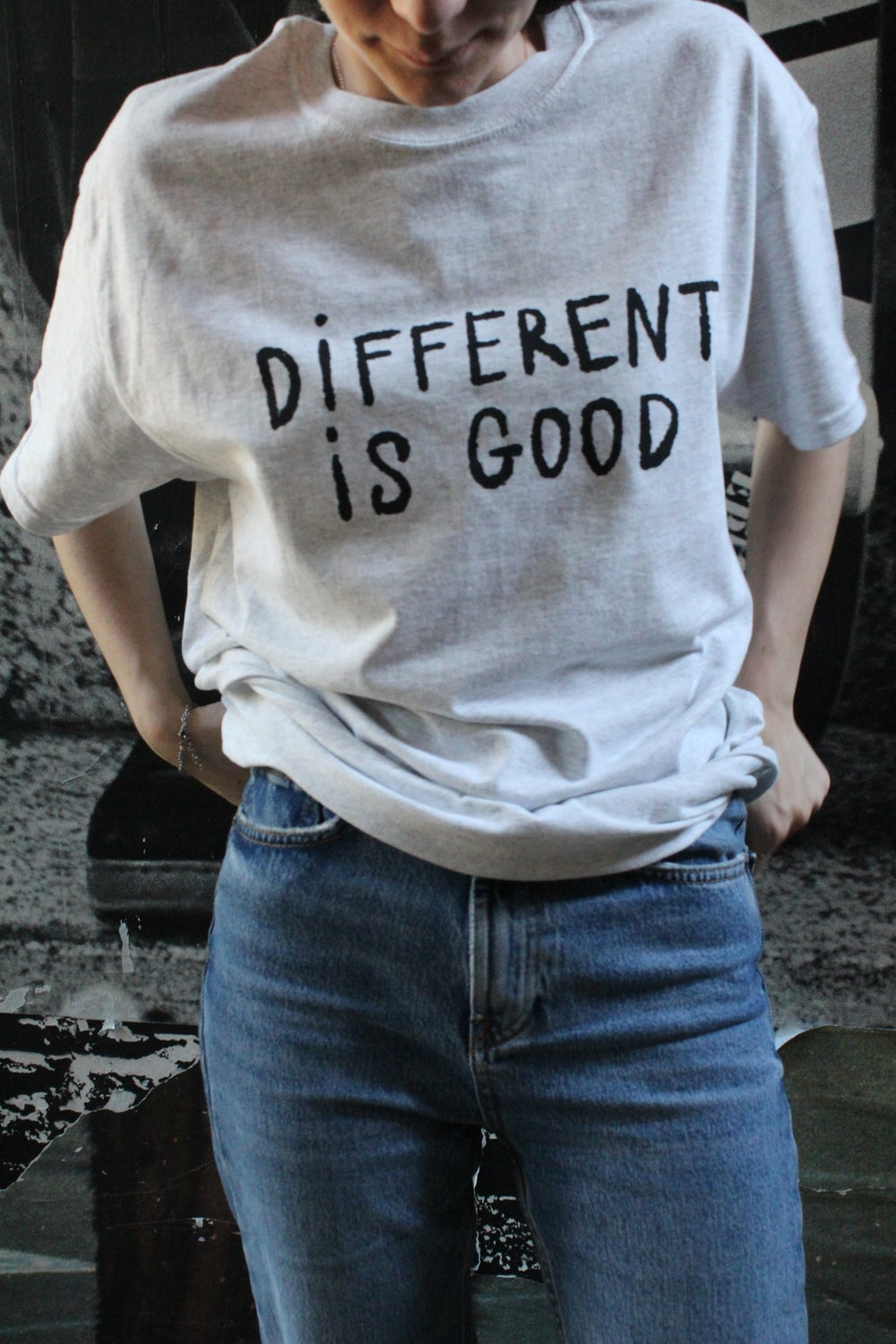 DIFFERENT IS GOOD TEE