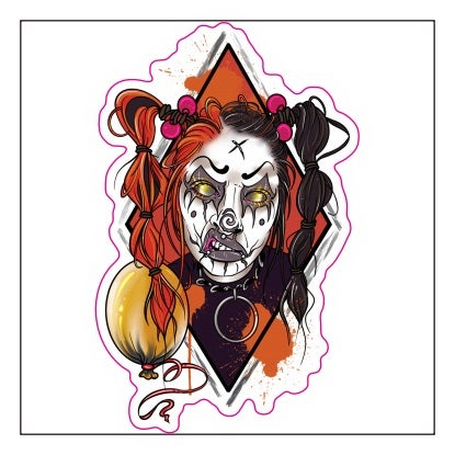 Image of Vinyl Stickers (UK ONLY)