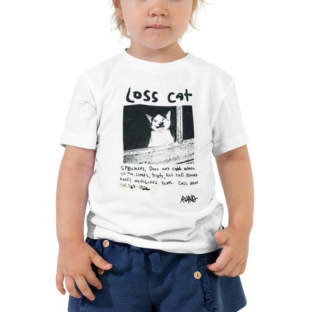 Image of Unisex Toddler Loss Cat t-shirt