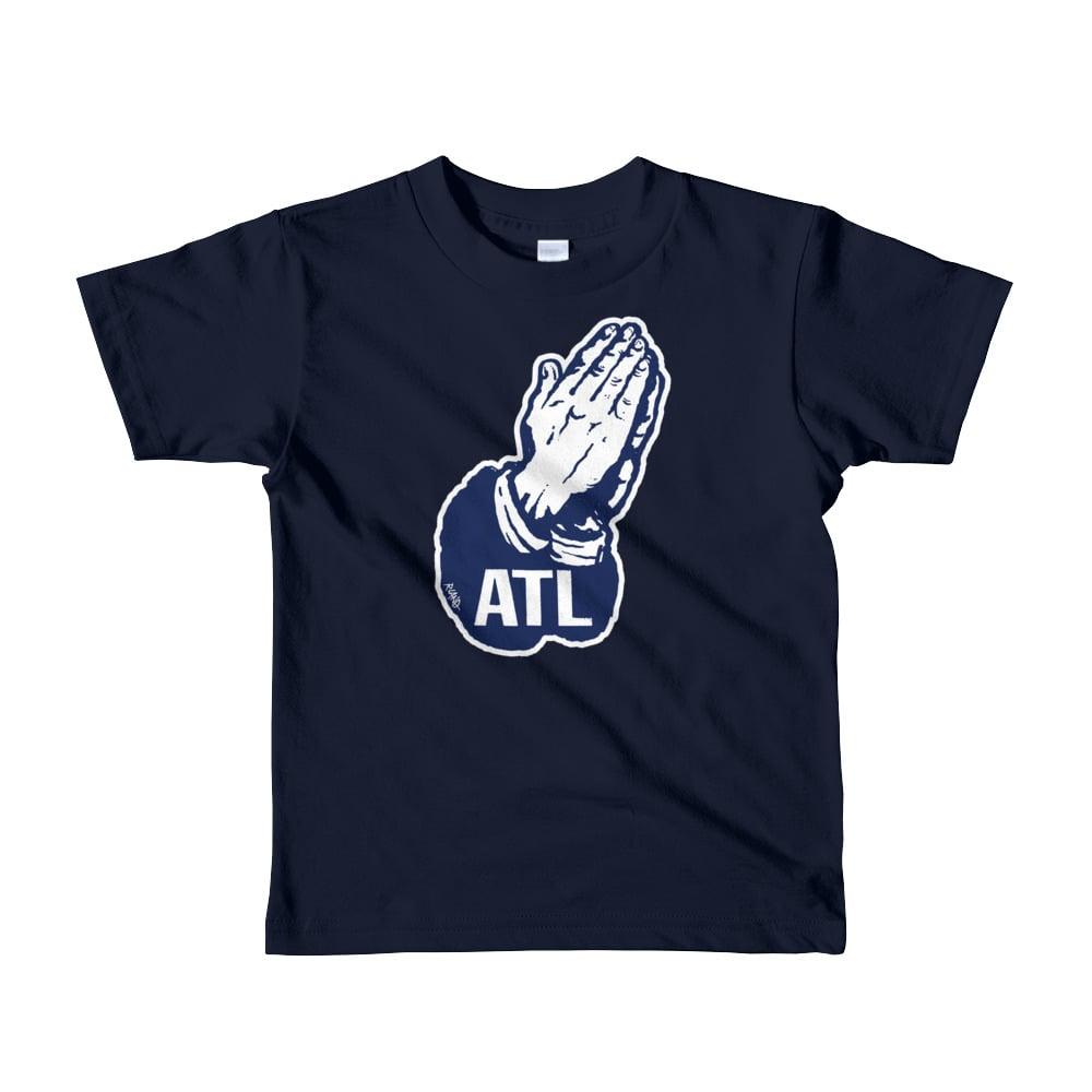 Image of NEW! Unisex Kids Pray for ATL t-shirt