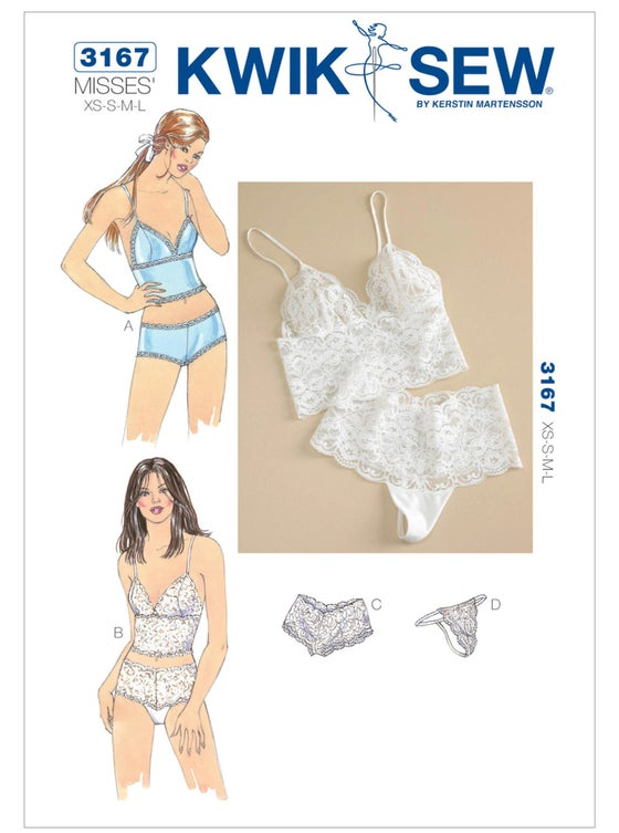 Image of VIRTUAL ZOOM OR IN PERSON Lingerie Workshop