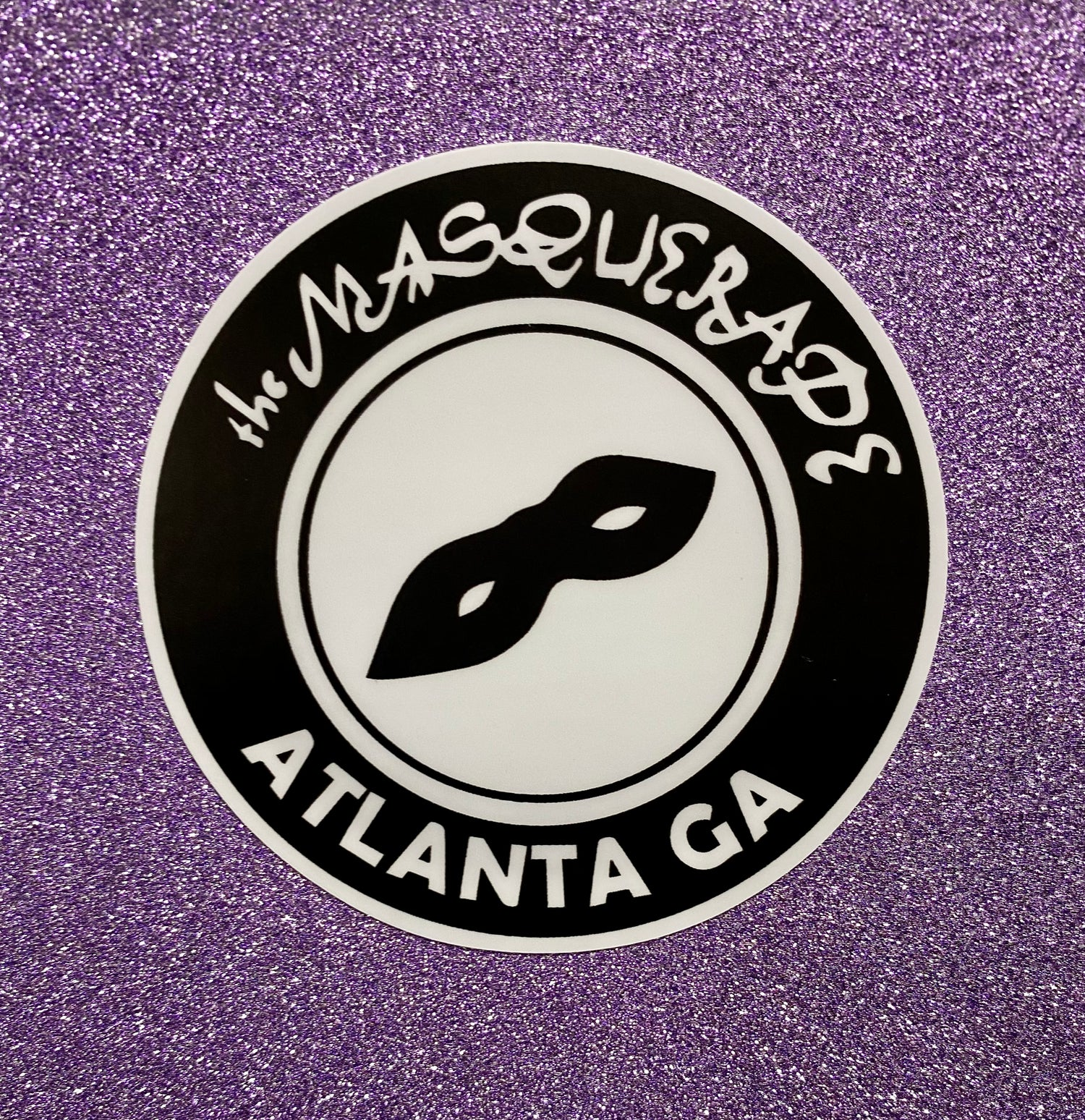 """3 pack of 3"""" logo stickers"""