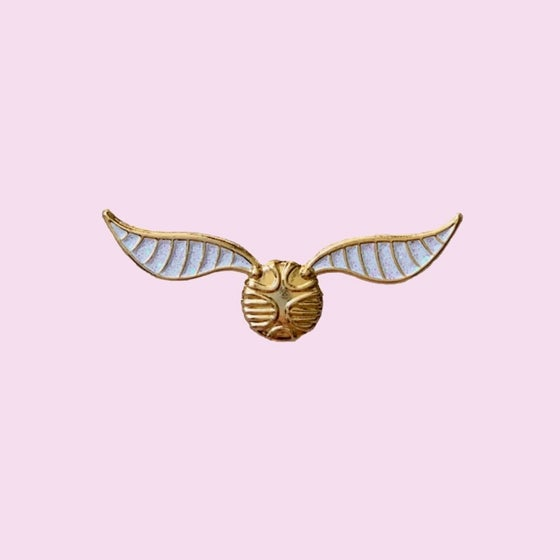 Image of Golden Snitch pin
