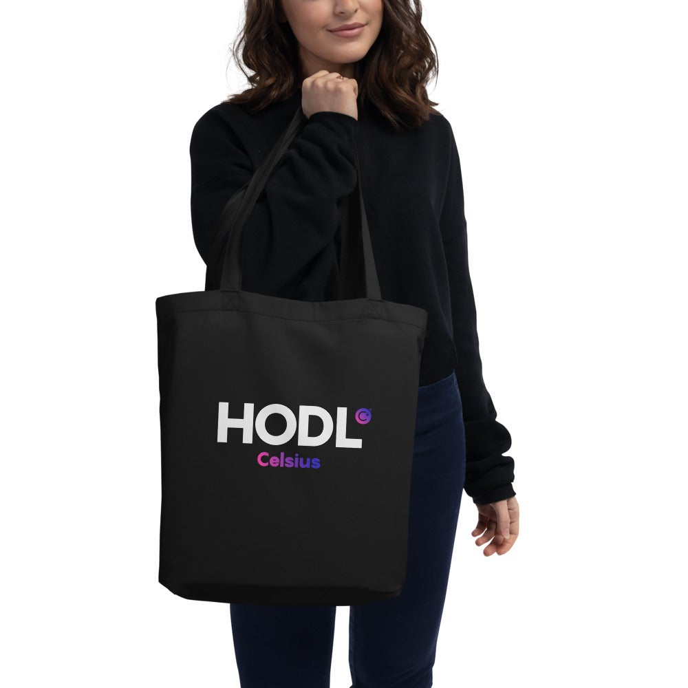 Image of HODL Eco Black Tote Bag