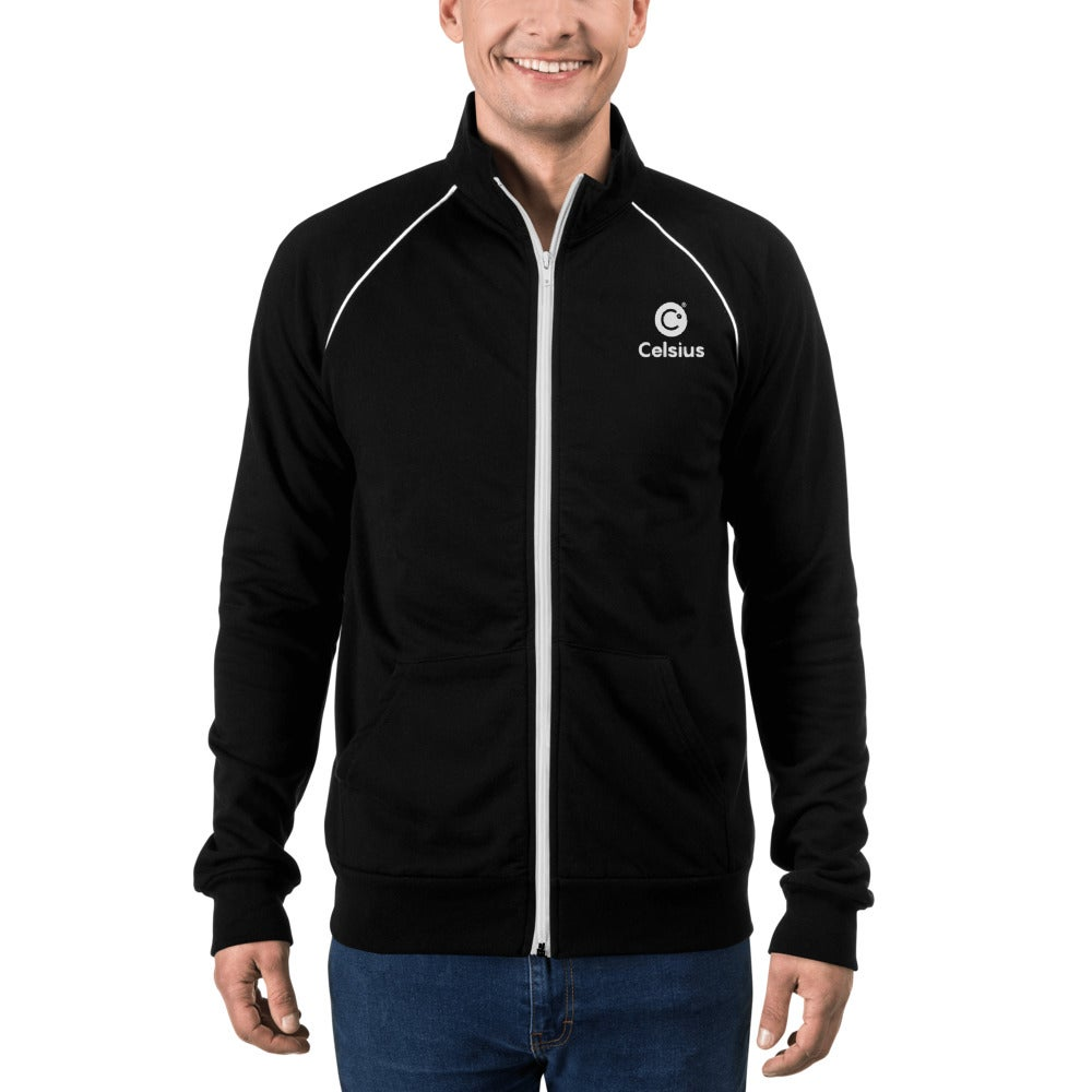 Image of Celsius Men's Piped Fleece Jacket
