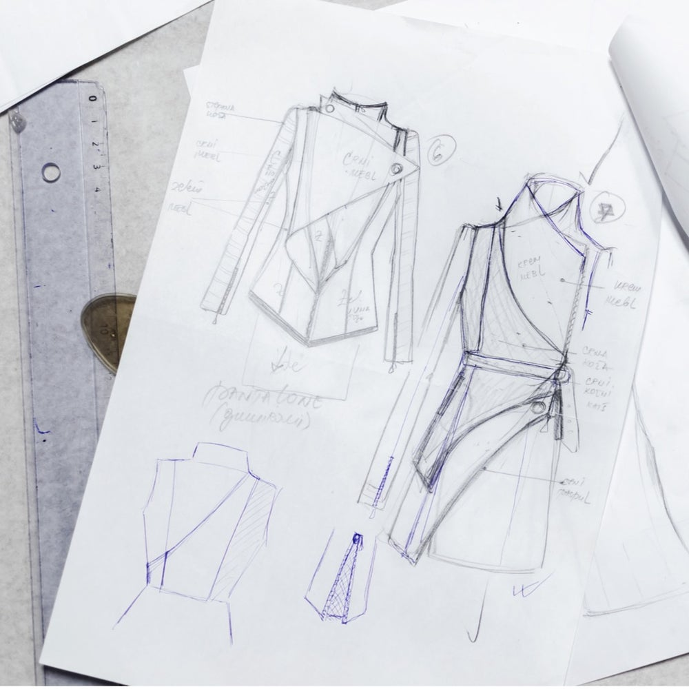 Image of VIRTUAL Fashion Sketching Class on Zoom (Ages 14 and up) Adults welcome