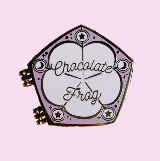 Image of Chocolate Frog Pin