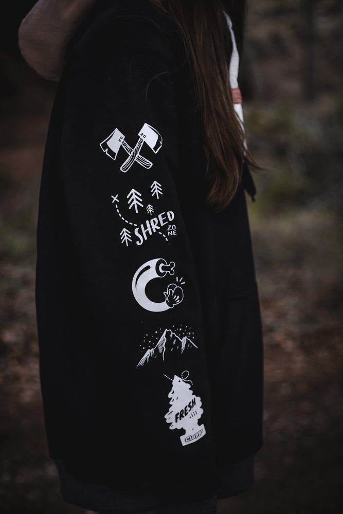 Image of Tall Hoodie  - Limited Edition - BLACK