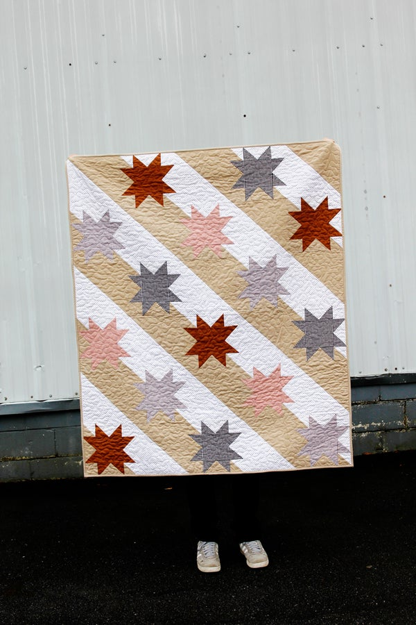 Image of The STARS AND STRIPES PICNIC Quilt
