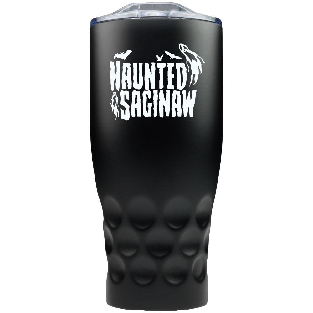 Image of Haunted Saginaw House Stainless Steel Travel Mug [Pre-Order Ships 1/1/21]