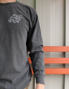 Image of Swift & Finch Long Sleeve Shirt (Pepper Grey)