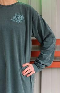 Image of Swift & Finch Long Sleeve Shirt (Spruce Green)
