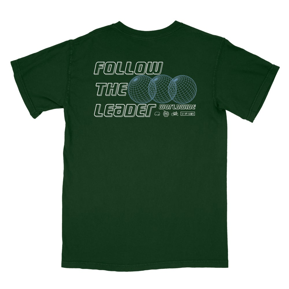 Image of Tri World Tee (Forest)