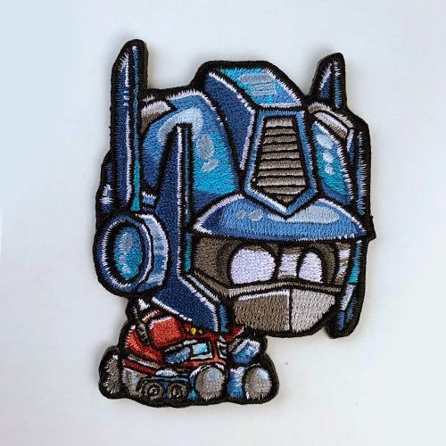 Image of Optimus Panda Patch [Embroidered]