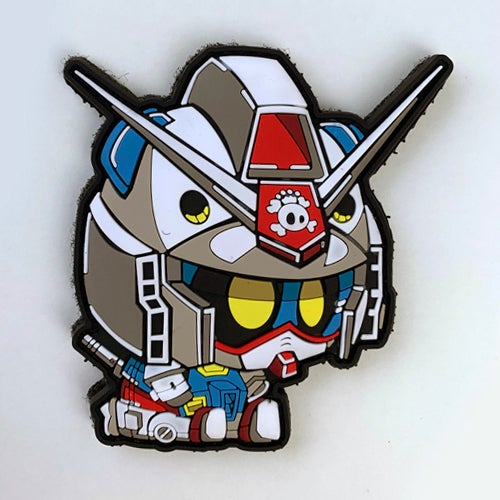 Image of Gundam Panda Patch [Rubber]