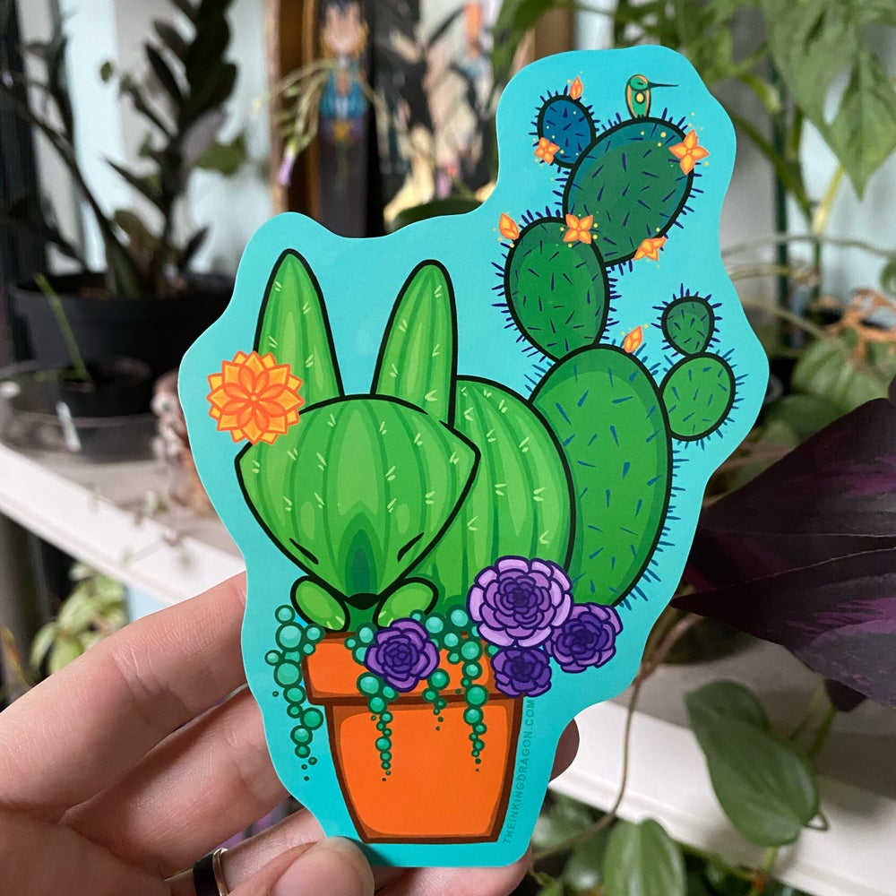 Image of Cactus Fox - (Two Stickers)