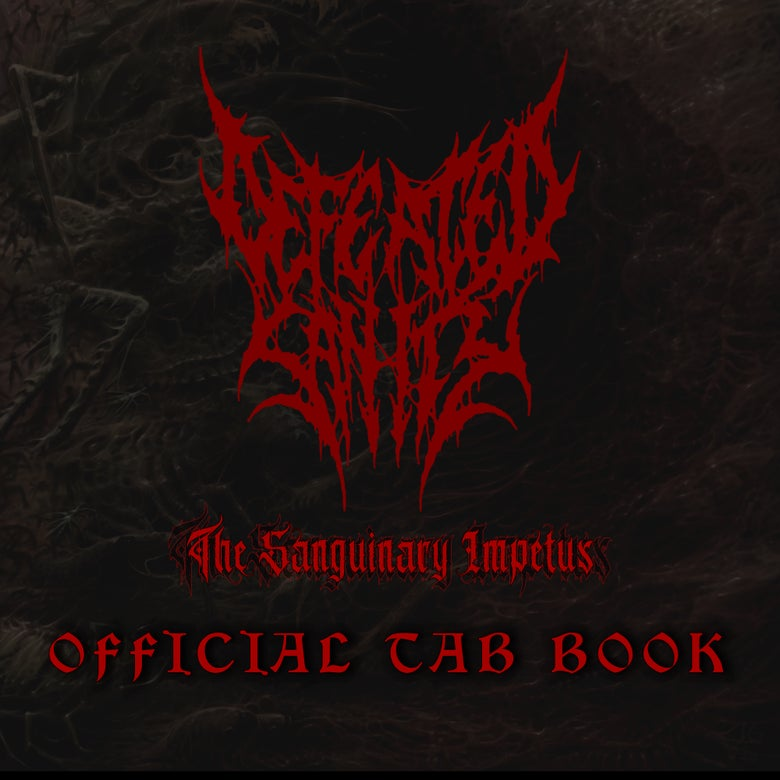Image of OFFICIAL TAB BOOK - The Sanguinary Impetus