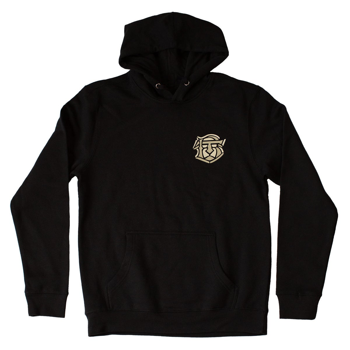 Image of Blind Tiger Hoodie: Black
