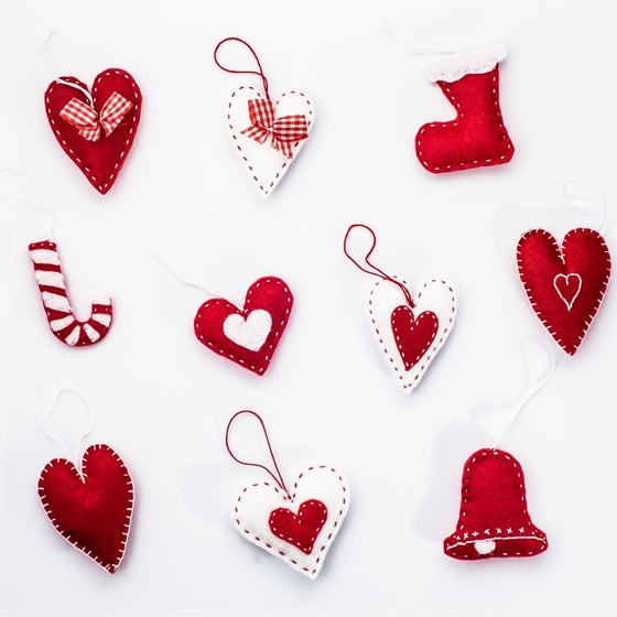 Image of IN PERSON OR VIRTUAL CLASS: Holiday Ornaments Workshop
