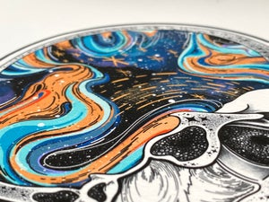 Image of The Ambivalent Mind Print A4