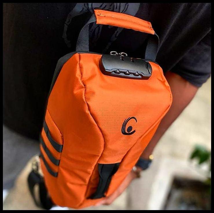 Image of CS HYBRID SLING ™ - Smoke Orange