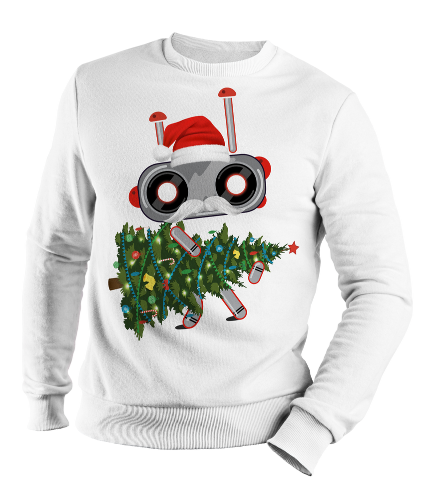 Image of Happy Holidays Sweater by Robokids