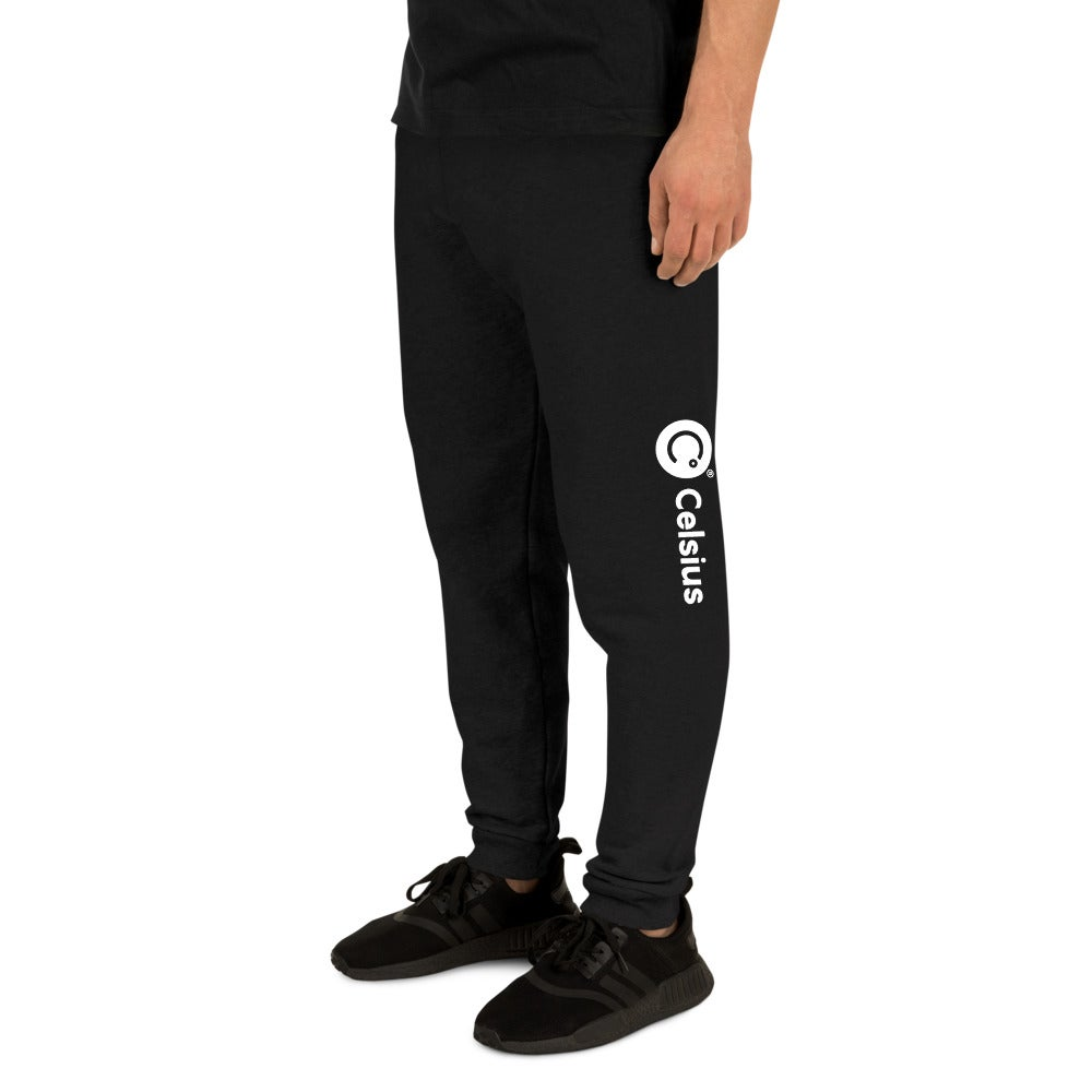 Image of Celsius Unisex Black Joggers