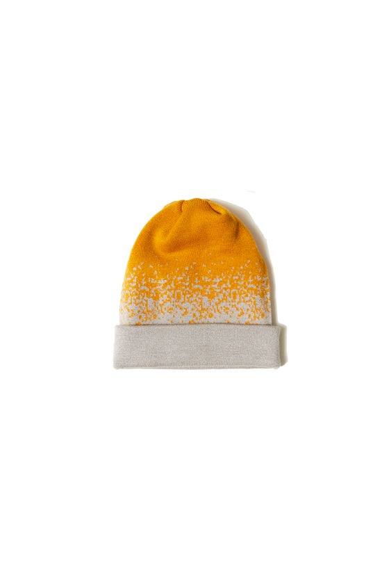 Image of BROSKI - TWO WAY KNIT BEANIE GOLD