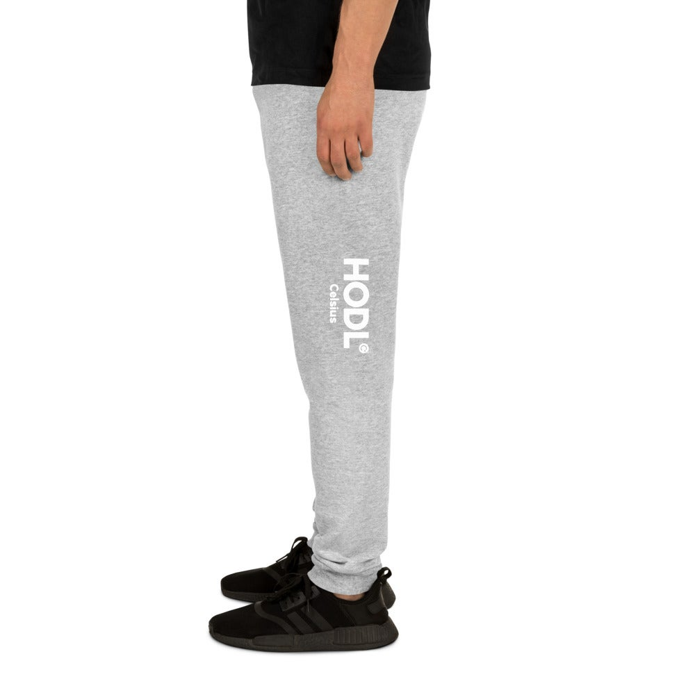 Image of HODL Unisex Grey Joggers