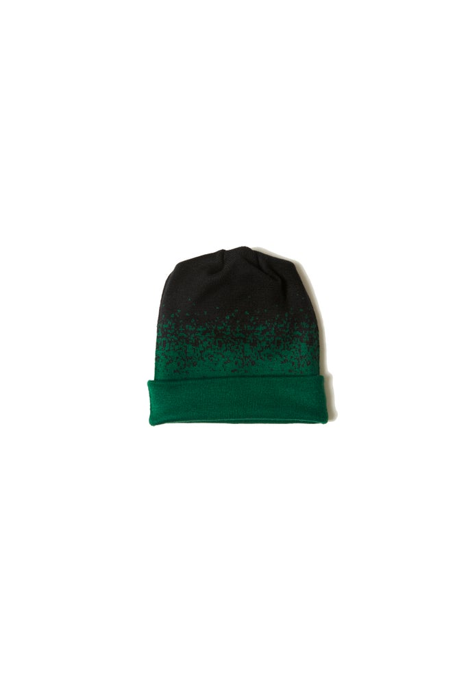 Image of BROSKI - TWO WAY KNIT BEANIE GREEN