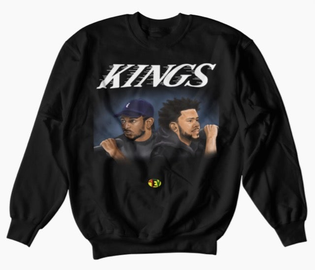 "Image of Kendrick/Cole ""KINGS""  [4EV SWEATSHIRT]"