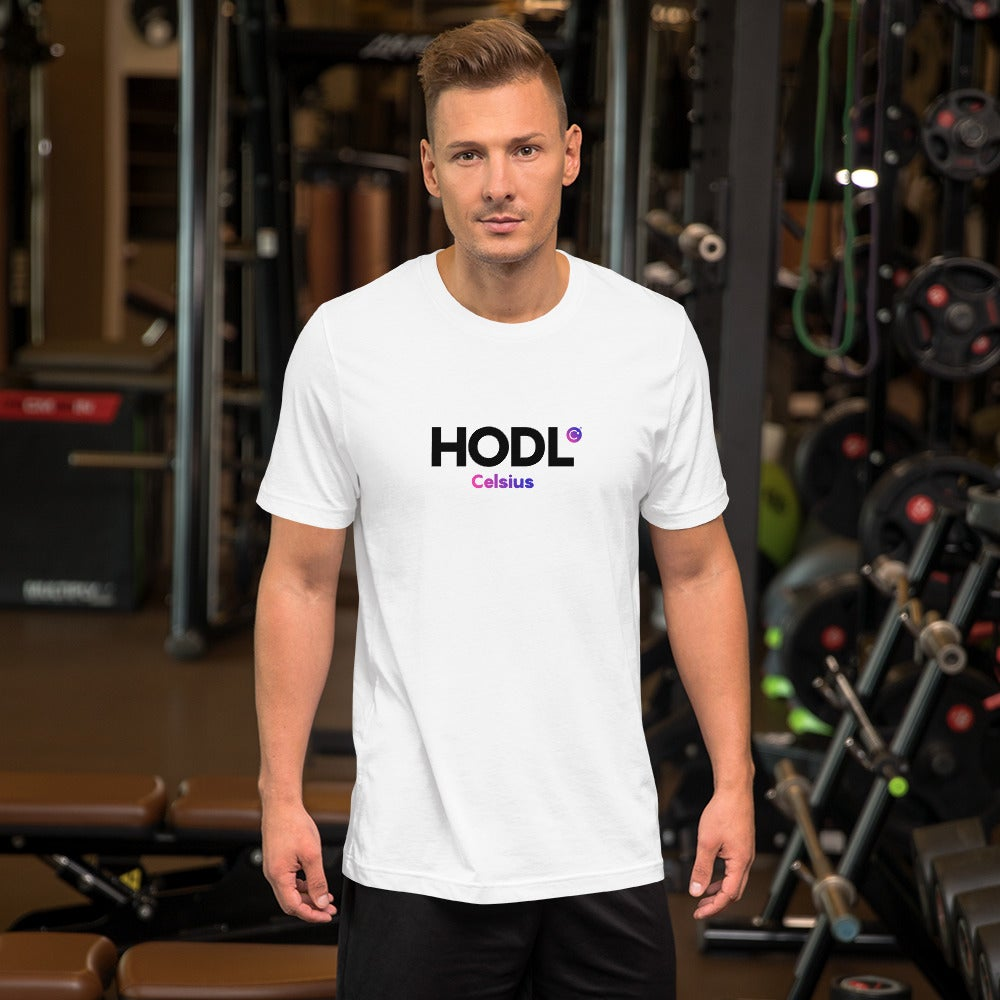 Image of HODL Unisex White T-Shirt